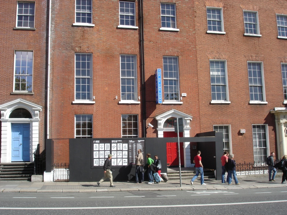 club exterior